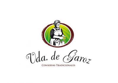 Vda. de Garoz logo